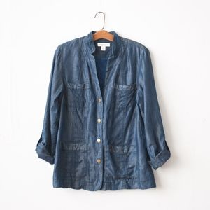 Coldwater Creek Tencel Jacket